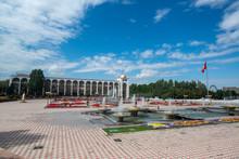 Ala Too Square In Bishkek, Kyr...