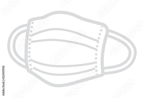 Cuadros en Lienzo Medical mask