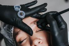 Eyebrows Microblading Concept....