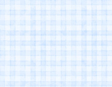 Watercolor Check Background Blue