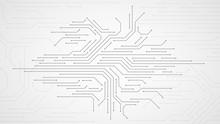 Circuit Board. Electronic Moth...