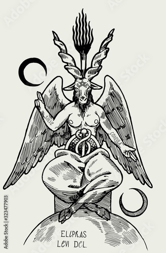 Photo Baphomet demon