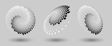 Abstract Dotted Vector Backgro...