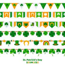 St. Patrick's Day Bunting Set ...