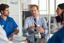 Pharmaceutical Advisor Showing New Medicine