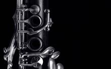Clarinet Keys On Black
