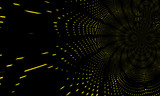 Fototapeta Fototapety przestrzenne i panoramiczne - Light effects. Neon glow. Festive decoration. Colorful abstract background