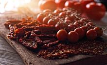 Dried And Fresh Tomatoes And S...