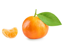 Tangerine Or Clementine With S...