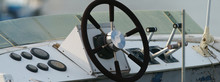 Remote Control Yacht. Steering...