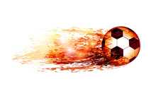 Abstract Sports Background Wit...