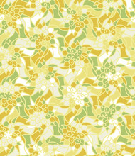 Ornamental Botanical Stained G...