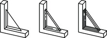 Window Glazing Types Icon, Vec...