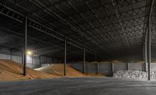 Warehouse With Bulk Grain And ...