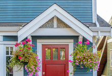 A Nice Entrance Of A House In ...