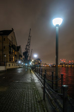 A View Along The Dockside At N...