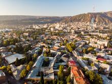 Tbilisi Aerial Landscape City ...