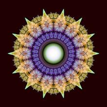 Fractal Mandala, Oriental Patt...