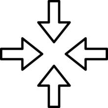 Constraint Icon, Vector Line I...