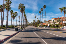 Road Of Santa Barbara, California