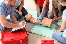 Instructor Demonstrating CPR O...