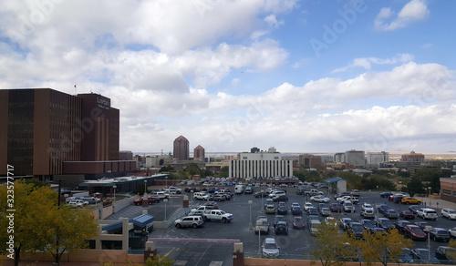 Photo Albuquerque Downtown Winter
