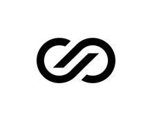 Infinity Loop Icon Vector Illustration