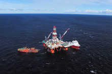 Oil Offshore Platform In The S...