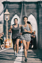 New York City Runners Athletes...