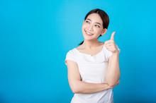 Beautiful Young Asian Woman Th...