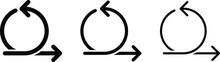 Agile Icon, Vector Line Illust...
