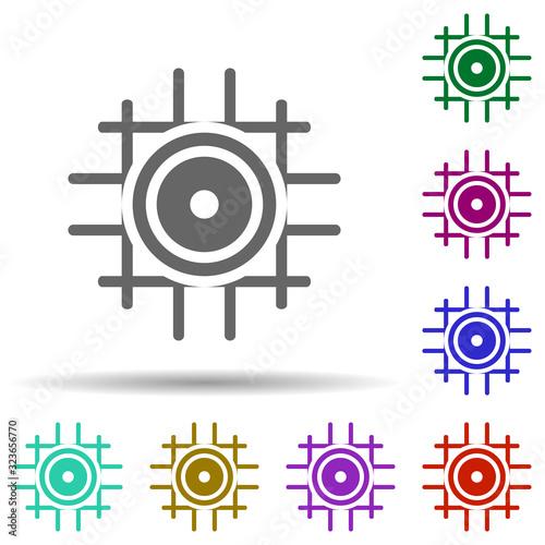 Native in multi color style icon Fototapeta