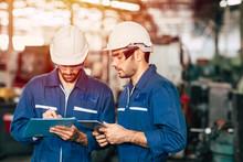 Engineer Teamwork Cooperate Wi...