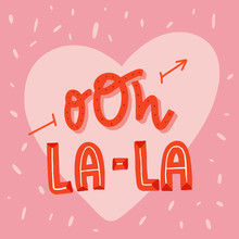 Oh La-la French Love Poster, P...