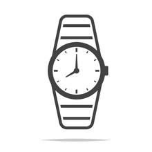 Wrist Watch Icon Transparent V...