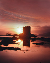Sunset OverCastle Stalker, Loc...