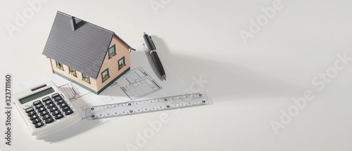 Fototapeta Buying your own home, home loan concept obraz