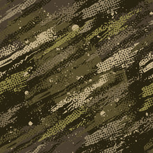 Abstract Camouflage Creative Green Color Seamless Pattern