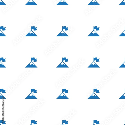 Photo attainment icon pattern seamless isolated on white background