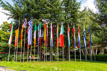 National Flags At Sevtopolis S...