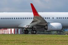 A Modern Jet Carrier At Final ...