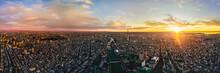 Aerial Shot Of Tokyo City, Japan