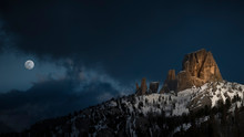 The Cinque Torri Of Cortina D'...
