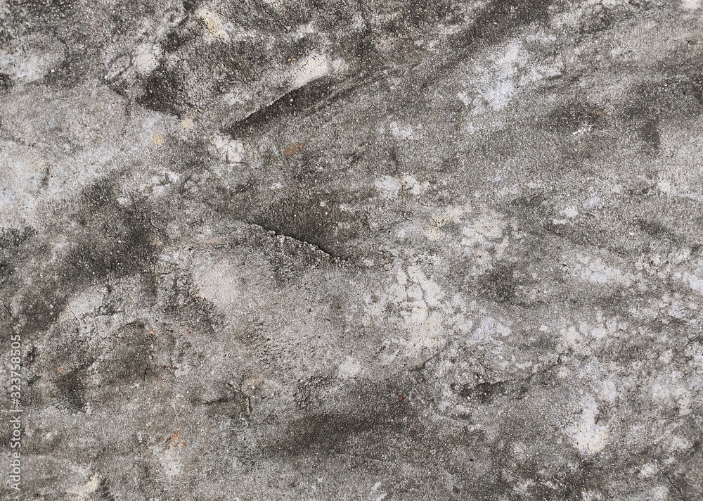 Texture of old gray concrete wall for background <span>plik: #323758505 | autor: greenbutterfly</span>