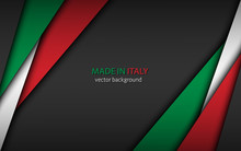 Made In Italy, Modern Vector B...