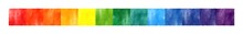 Abstract Rainbow Banner, Line,...