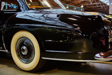 Detail Of Classic Car. Closeup...