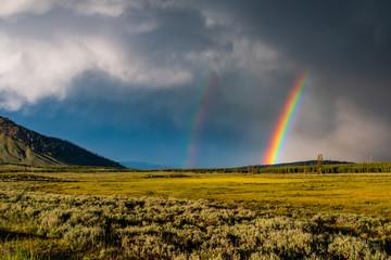 arcobaleno a yellow stone