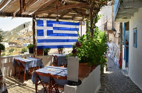 Fototapety, obrazy: Karpathos ristorante greco