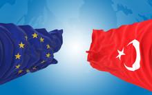 European Union And Turkish Fla...